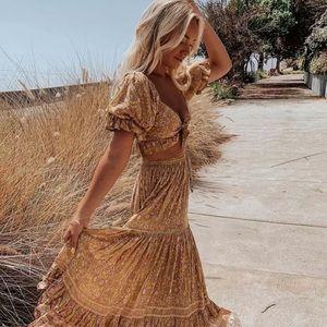 Dahlia-Bohemian Chic Skirt